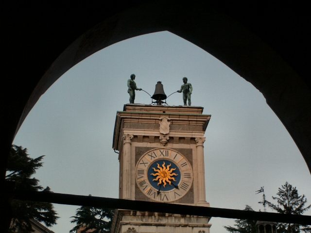 Clock Tower in Udine